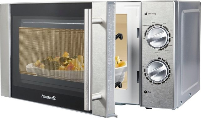 Hanseatic Mikrowelle MW D70H20L, 700 W, mit Grill