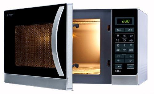 Sharp R-742(IN)W Mikrowelle / 25 L / 900 W