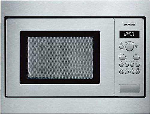 Siemens HF15M552 iQ542 Mikrowelle / 17 L / 800 W / Edelstahl / Gewichtsautomatik / Temperatureinstellung