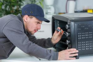 Mikrowelle reparieren selbst