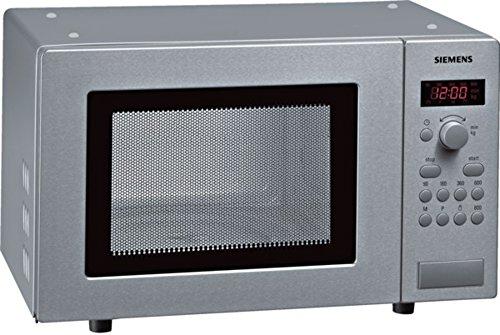 Siemens HF15M541 iQ300 Mikrowelle / 17 L / 800 W / Edelstahl / Gewichtsautomatik / Digital-Display
